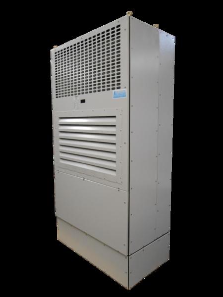 Climatiseur de shelters pour station de production solaire for Protection climatiseur exterieur