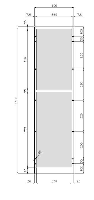 climatiseur d 39 armoire ksl 1 4 kw. Black Bedroom Furniture Sets. Home Design Ideas